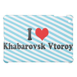 I Love Khabarovsk Vtoroy, Russia iPad Mini Cases