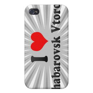 I Love Khabarovsk Vtoroy, Russia Covers For iPhone 4