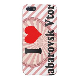 I Love Khabarovsk Vtoroy, Russia Case For iPhone 5