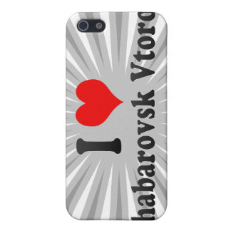 I Love Khabarovsk Vtoroy, Russia Covers For iPhone 5