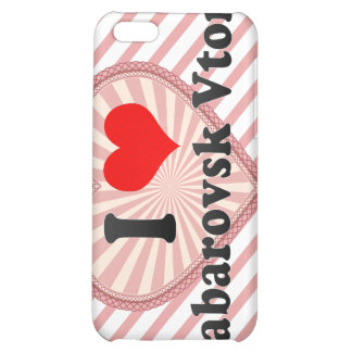 I Love Khabarovsk Vtoroy, Russia Case For iPhone 5C