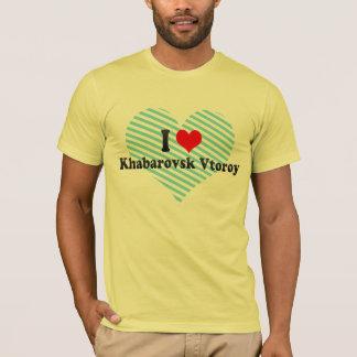 I Love Khabarovsk Vtoroy, Russia T-Shirt