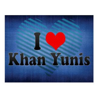 I Love Khan Yunis, Palestinian Territory Postcard