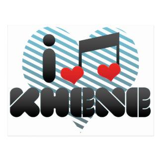 I Love Khene Postcards