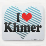 I Love Khmer Mouse Pad