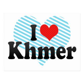 I Love Khmer Postcard