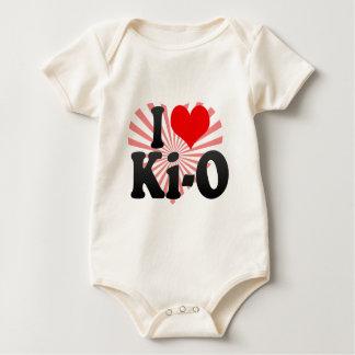 I love Ki-O Baby Bodysuit