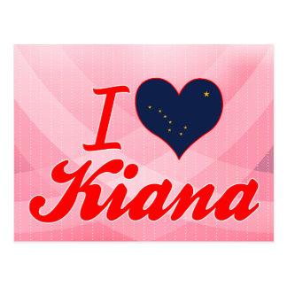 I Love Kiana, Alaska Postcards