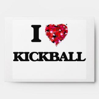 I Love Kickball Envelopes
