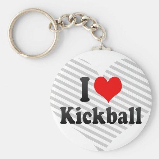 I love Kickball Keychains