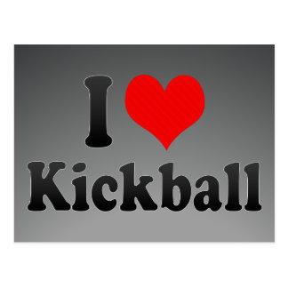 I love Kickball Postcard