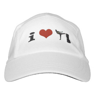 I Love Kickboxing! with Red Heart Hat