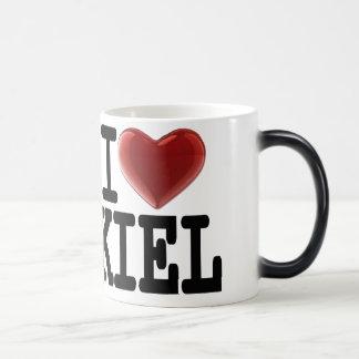 I Love KIEL 11 Oz Magic Heat Color-Changing Coffee Mug