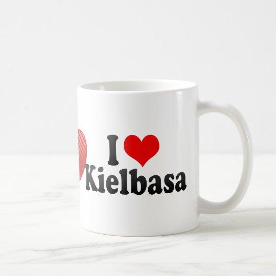 I Love Kielbasa Coffee Mug