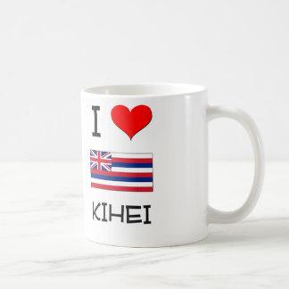 I Love KIHEI Hawaii Classic White Coffee Mug