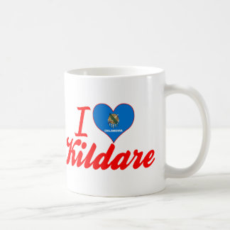I Love Kildare, Oklahoma Classic White Coffee Mug
