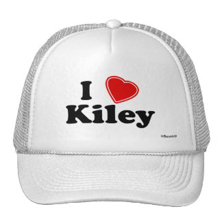 I Love Kiley Trucker Hat