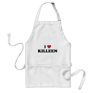 I Love Killeen Texas Adult Apron