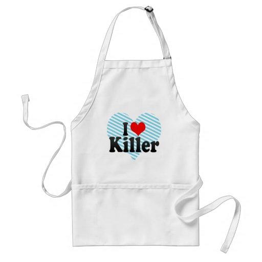 I love Killer Adult Apron