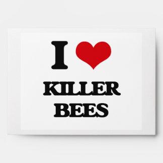 I love Killer Bees Envelopes