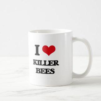 I love Killer Bees Classic White Coffee Mug