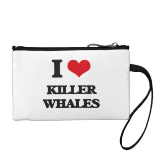 I love Killer Whales Coin Wallets