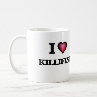 I Love Killifish Coffee Mug