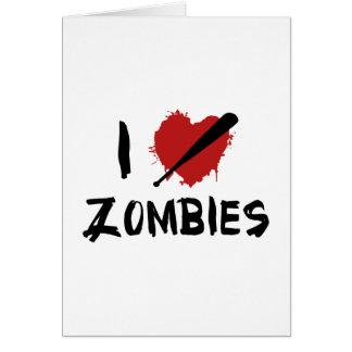 I Love Killing Zombies Cards