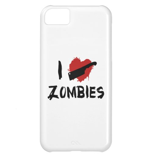 I Love Killing Zombies Cover For iPhone 5C