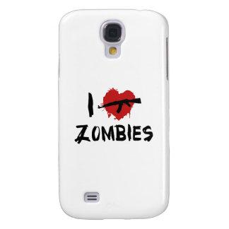 I Love Killing Zombies Galaxy S4 Case