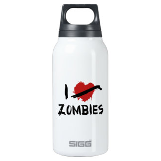 I Love Killing Zombies Thermos Bottle