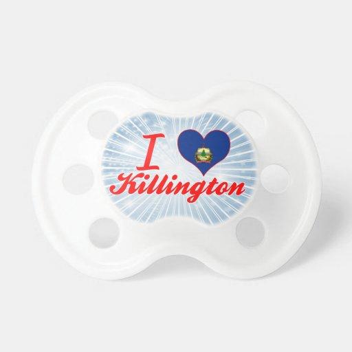 I Love Killington, Vermont Pacifier