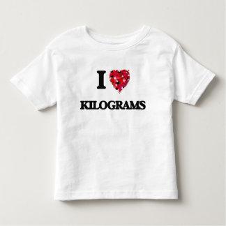 I Love Kilograms Tee Shirts
