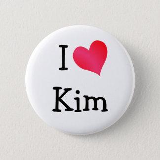 I Love Kim Button