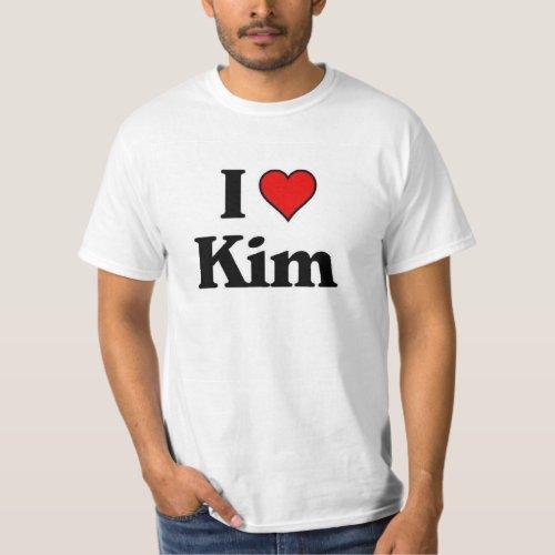 I love Kim T_Shirt