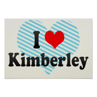 I Love Kimberley, South Africa Poster