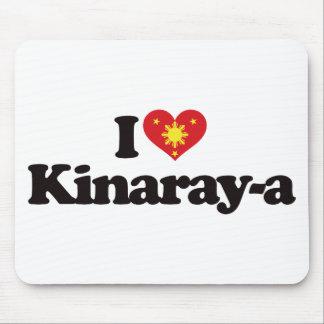 I Love Kinaray-a Mouse Pad