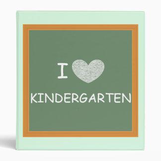 I Love Kindergarten Binder