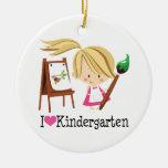 I Love Kindergarten Gift Ornament