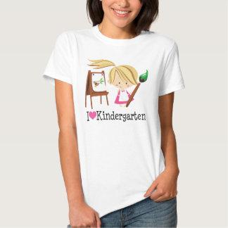 I Love Kindergarten Gift Shirt