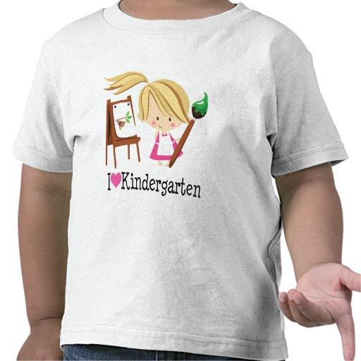I Love Kindergarten Gift T Shirt