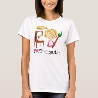 I Love Kindergarten Gift T-Shirt