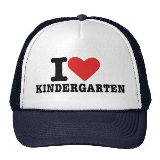 I love kindergarten mesh hats
