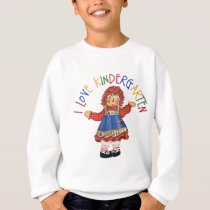 I Love Kindergarten Sweatshirt