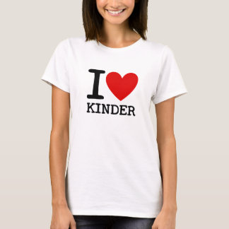 I Love Kindergarten Teacher Shirt