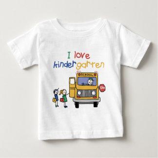 I Love Kindergarten Tee Shirt