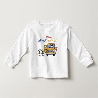 I Love Kindergarten Toddler T-shirt