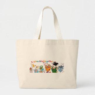 I Love Kindergarten Tote Bag