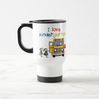 I Love Kindergarten Travel Mug