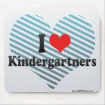 I Love Kindergartners Mousepads